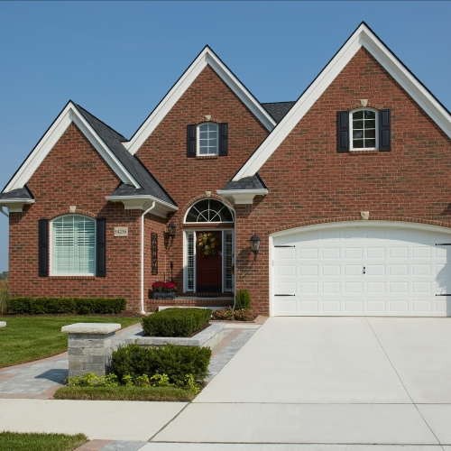 House using Legacy Series products from Brampton Brick
