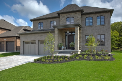 House using Crossroads Series and Rialto 80mm product from Brampton Brick