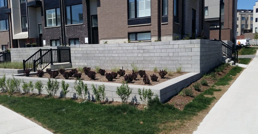 Wall using Proterra™ Smooth product from Brampton Brick