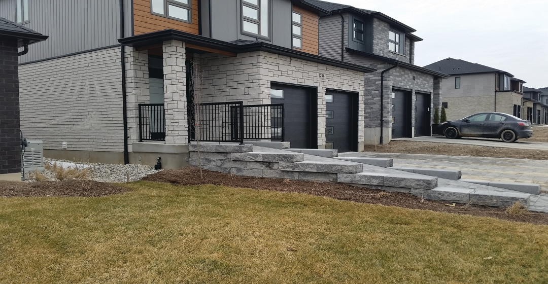Wall using Proterra™ Split products from Brampton Brick