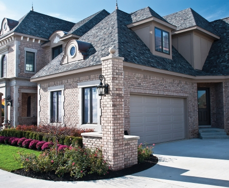 House using Crossroads Series products from Brampton Brick