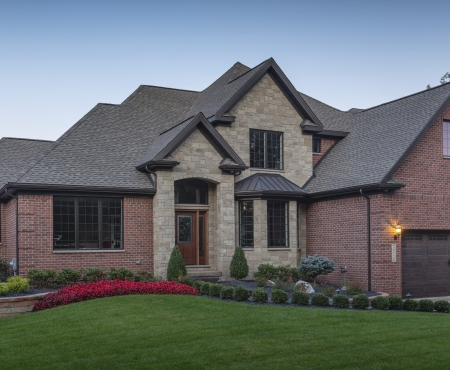House using Vivace product from Brampton Brick