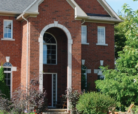 House using Legacy Series product from Brampton Brick